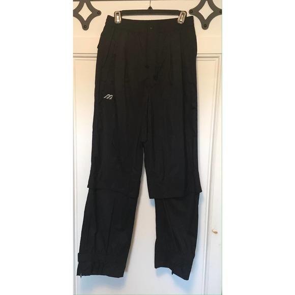 Mizuno Performance Wear Adjustable Rain Pants M